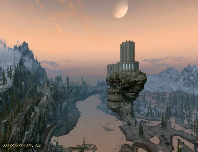 Скайрим Мод Небесный Замок Скачать - фото 7