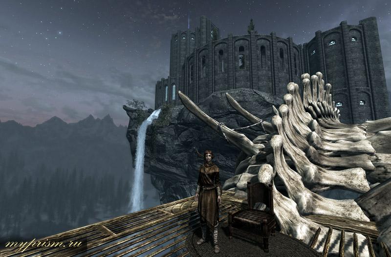 скачать мод на замок довакина на скайрим